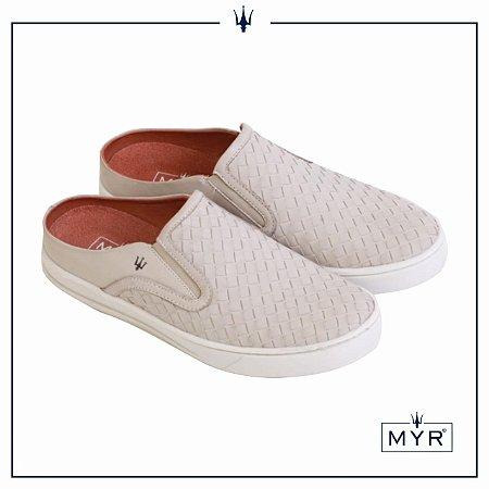 Mule tresse MYR - Off White