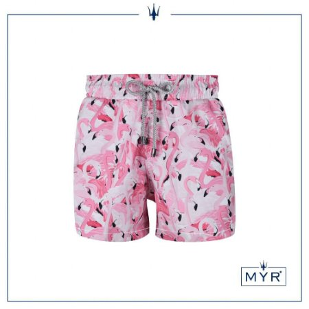 Short curto est. - Flamingo