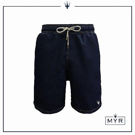 Short Comprido - Azul Marinho