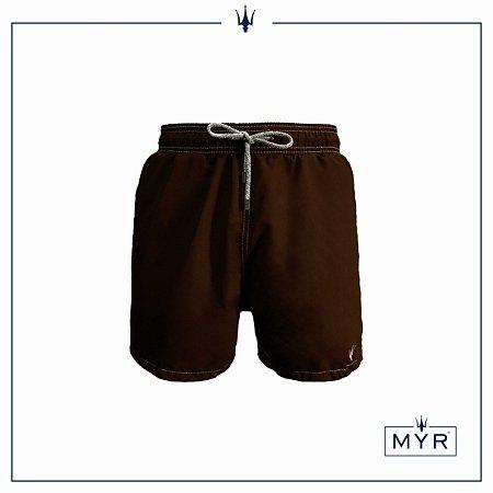 Short curto - Marrom
