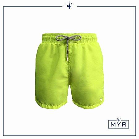 Short curto - Amarelo Neon