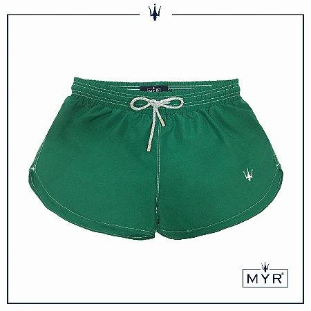 Short feminino - Verde bandeira