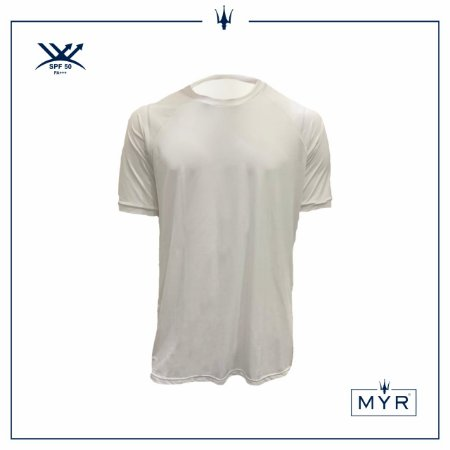 Camiseta UVSKIN branca ride