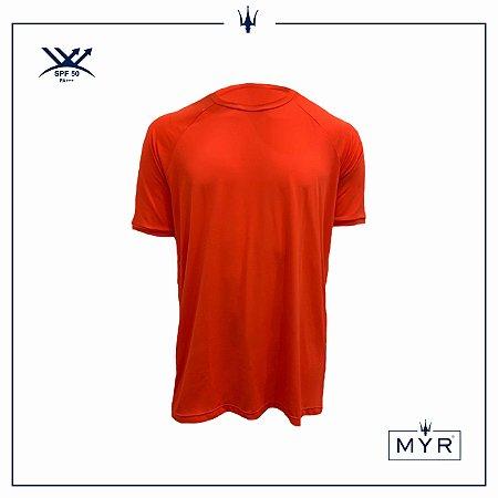 Camiseta UVSKIN laranja ride
