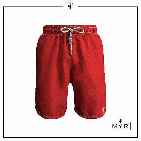 Short Comprido - Vermelho