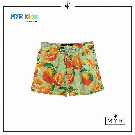 Short Infantil - Orange