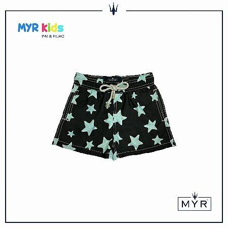 Short Infantil - Black Star