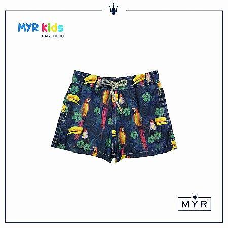 Short Infantil - Tropical