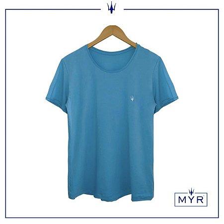 Camiseta Petribul - Azul Ciano