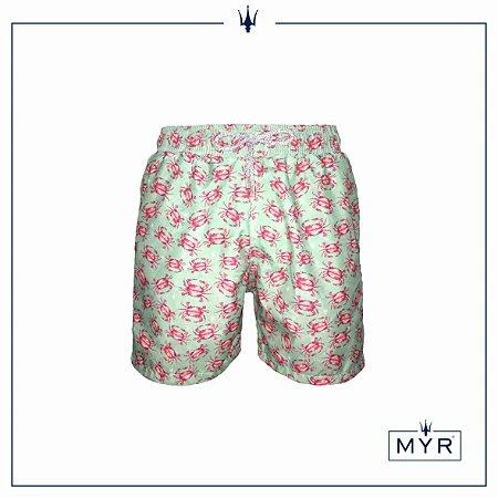 Short curto est. - Pink Crab