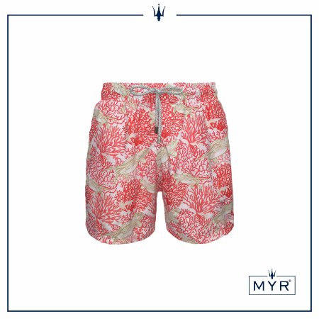 Short curto est. - Pink Turtle
