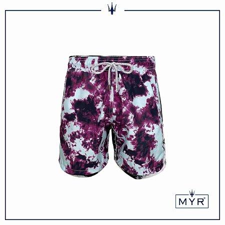 Short curto est. - Tie Dye Purple