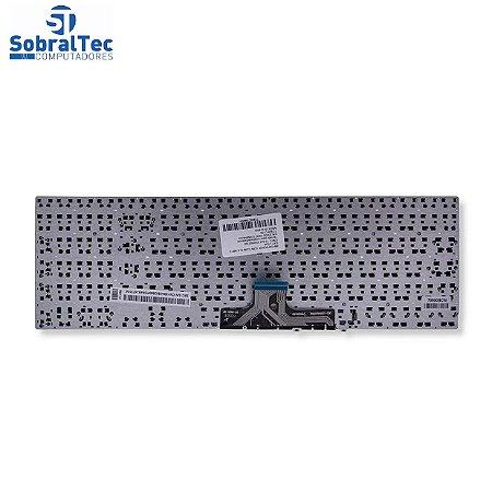 Teclado para Notebook Samsung Np300e5L   Abnt2 Sem Moldura