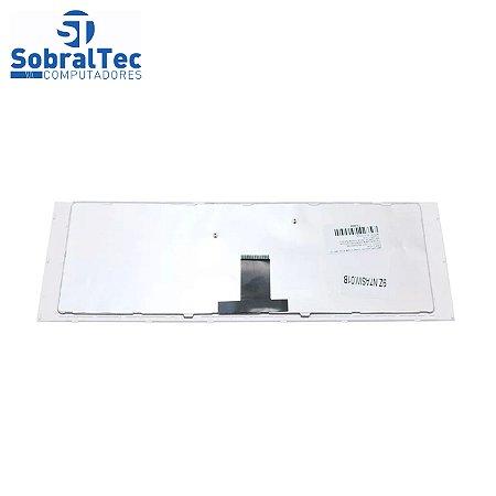 Teclado Para Notebook Sony Vaio PN V081630B - Branco Abnt2 - Uk Style