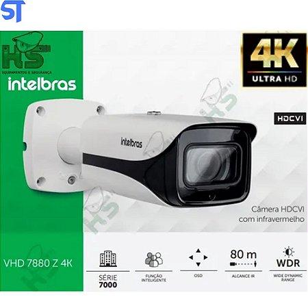 Câmera Intelbras Vhd 7880 Z Ultra Hd 4k 2160p Ir 80m 4k 8mp