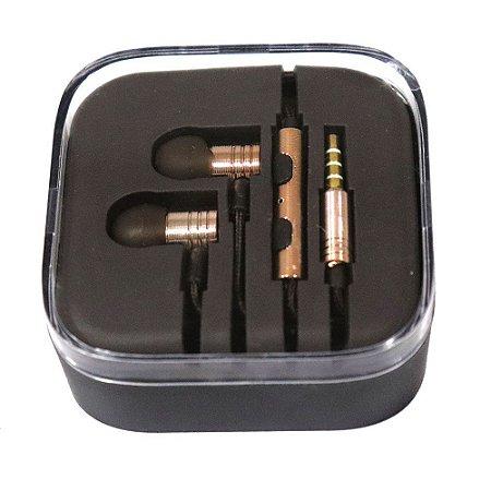Fone de Ouvido Alta Qualidade Conforto Compacto Box Preto