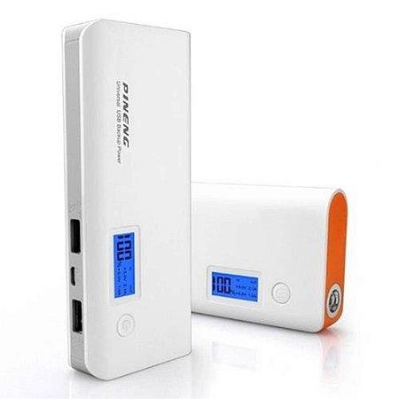 Bateria Portátil Power Bank Pineng Pn-968 10000mah Lanterna Selo Pt