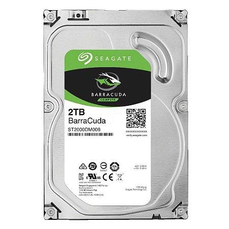HD Interno Desktop Seagate SATA3 2TB Pull ST2000NM0011