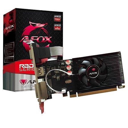 Placa de Vídeo Afox Radeon R5-230 1GB DDR3 64BIT -LP- HDMI -DVI -VGA