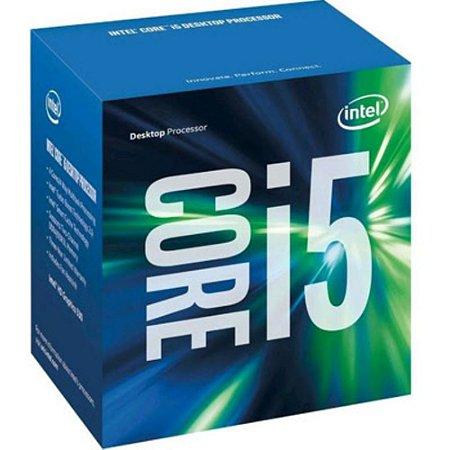 Processador Intel LGA1151 i5-6400 2.7 GHz 6MB Cache Na Box