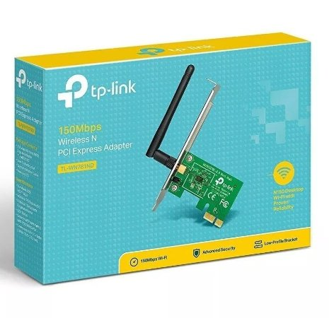 Placa Pci Express Wireless N 150Mbps TL-WN781ND TP-Link