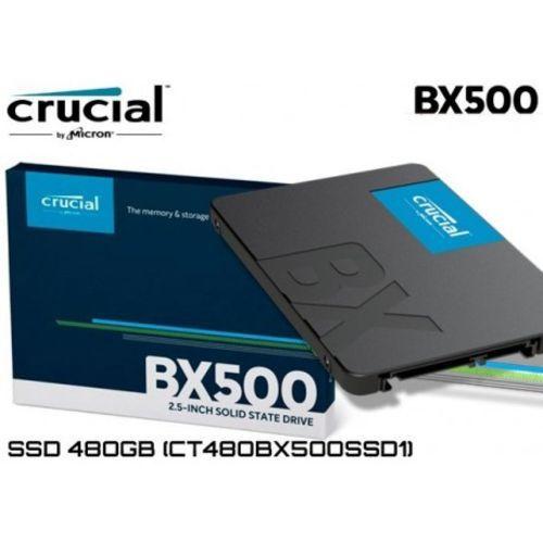 Hd Ssd Crucial 480 Gb Bx500 3D Nand Sata3 -2,5 7mm