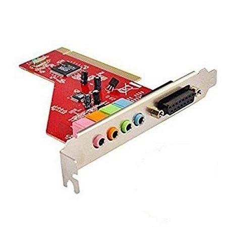 Placa de Som PCI Creative - 4810