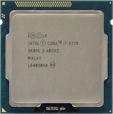 Processador Intel Core i7-3770 3.4 GHZ 8MB Cache 1155, 3ª Ger.