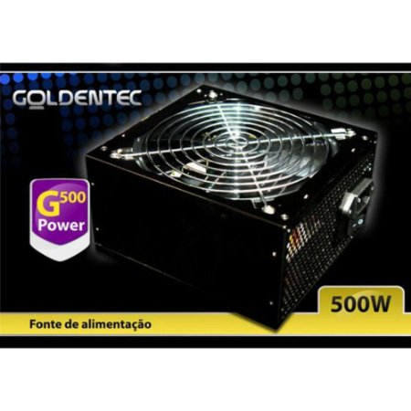Fonte de Alimentação Atx Potencia Real 500W Goldentec G500- GT500