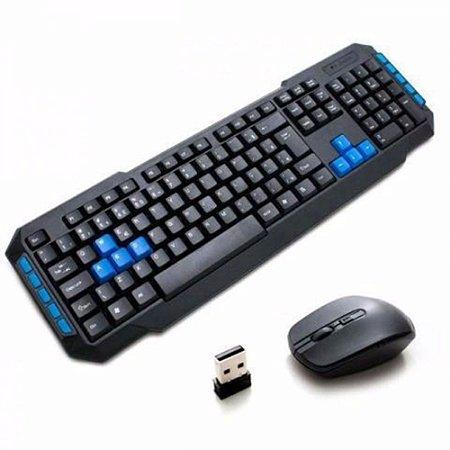 Kit Teclado e Mouse Wireless 2.4 Ghz Wb-8099 Veibo