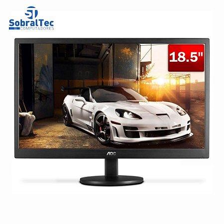 Monitor Led 18.5 Polegadas Aoc E970SwnL Widescreen Vga Preto