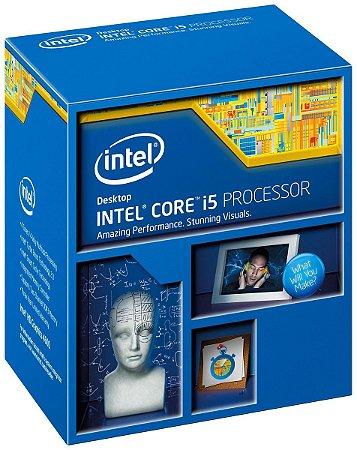 Processador Intel Core I5 4670K 6MB 3.4 Ghz Lga 1150 4ª Ger