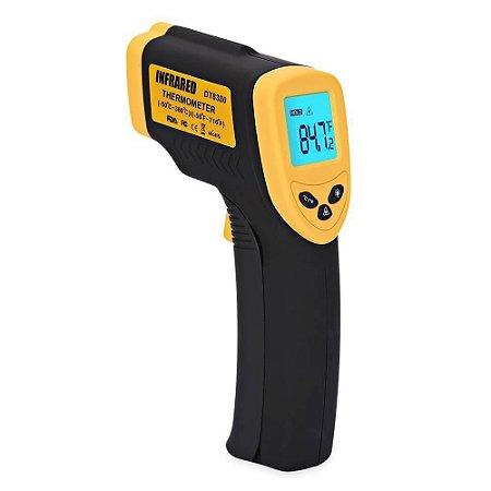Termômetro Digital Infravermelho Com Mira Laser (-50 A 380 C)