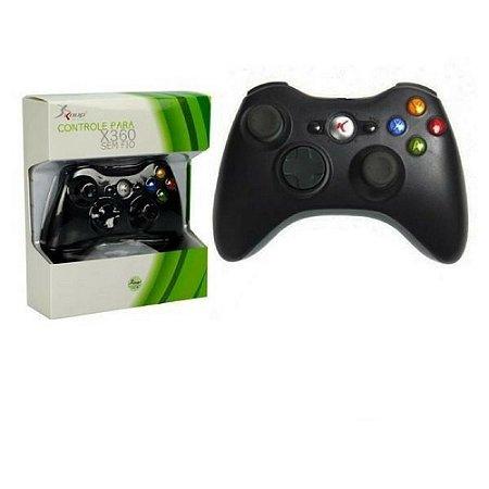 Controle Sem Fio Para XBox 360 Knup KP-5122