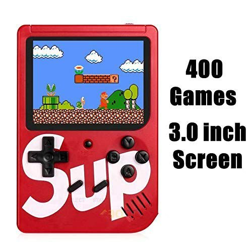Mini Game Portátil 400 Jogos Retro Sup Game Box Mega Multicores