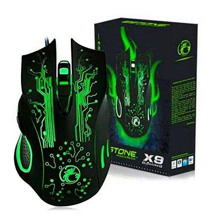 Mouse Gamer X9 Game Estone Dpi E-sports Cs Minecraft Lol Go