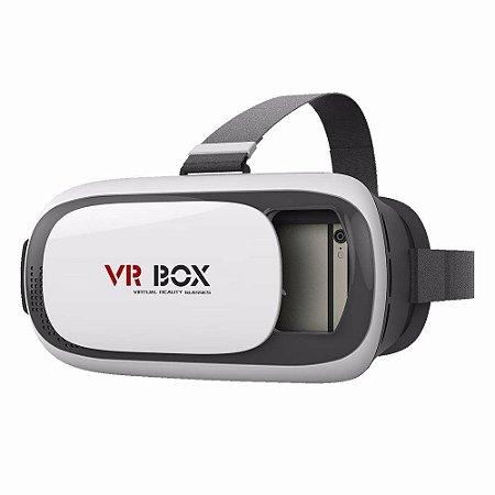 Oculos de Realidade Virtual Rv 360º 3D VRBOX Com Controle