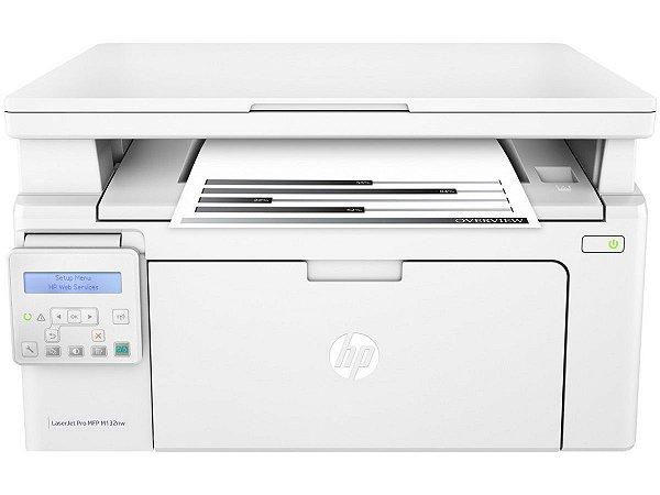 Impressora Multifuncional Hp Laserjet Pro M132nw - 110V