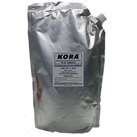 Pó Para Recarga de Toner HP Alta 435 KG J28 Bag M - 1 KL