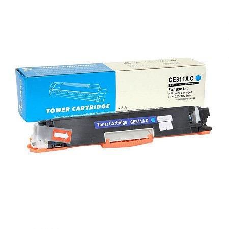 Toner Compatível HP CE311A 126A - CF351A 130A - H801 - Ciano  Premium