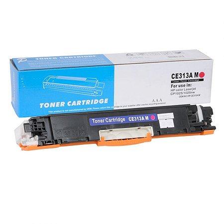 Toner Compatível HP CE313A 126A - CF353A 130A - H803 - Magenta- Premium Quality 1k