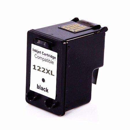 Cartucho Compatível Hp Preto 122XL HC-J12B- CH563HB