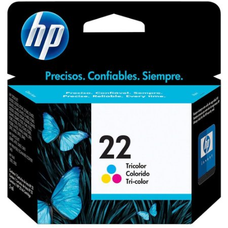 Cartucho hp 22 Color C9352AB Rende Até 165 Paginas
