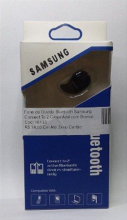 Fone de Ouvido Bluetooth Samsung Connect To 2 Caixa Azul com Branco
