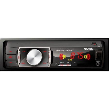 Toca Radio Napoli Npl-3799 Bluetooth - Usb - Cartão Sd - Mp3