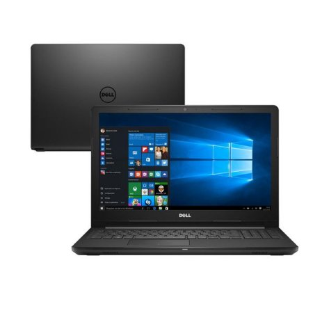 """Notebook Dell I3480-3879BLK  Core i3 2.1GHz  Memória 4GB  HD 1TB  14"""""""