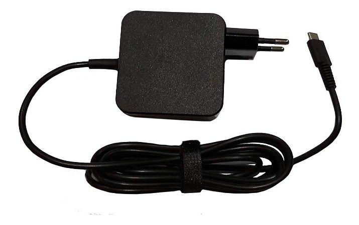 Fonte Notebook Lenovo Thinkpad E480 USB-Tipo C 20v 2.25a 45W