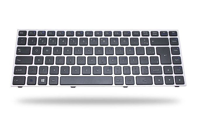 Teclado Notebook Compativel Com Positivo Premium Tv Xs3210 - Mp-12R78Pa-43022 - Br Sem Moldura