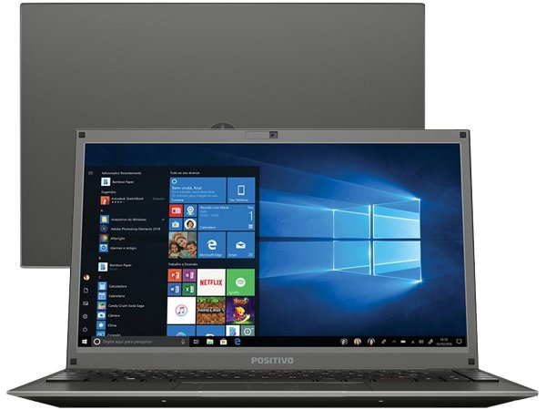 Notebook Positivo Master N1240 Intel Celeron Ram 4GB HD 500GB Tela 14
