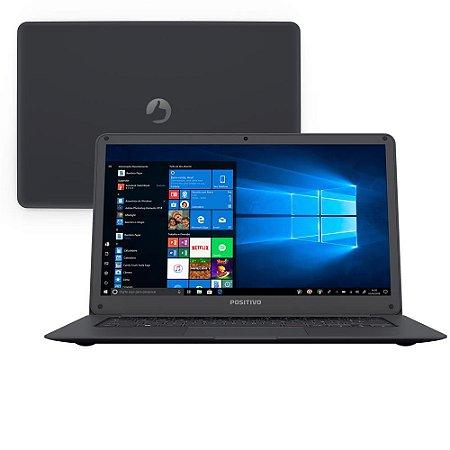 Notebook Positivo Motion Gray Q232A 2GB 32GB SSD + 64GB Semi